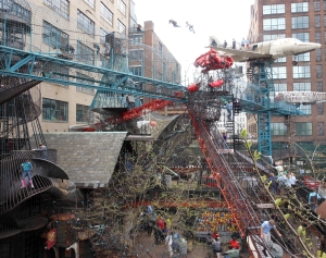 The outside of the City Museum.